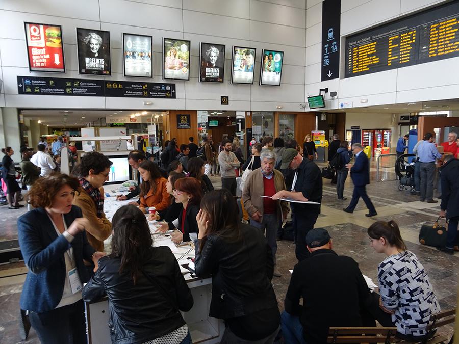 Photo de Métro Ligne 3 Toulouse, un projet développé par l Agence What Time Is I.T., Manufacture d'imaginaires