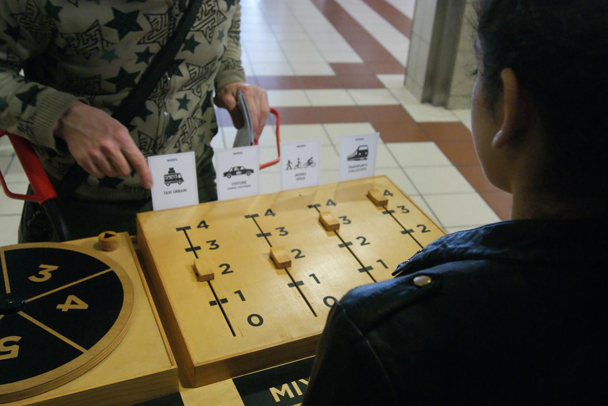 Photo de Mixette d'idées, un outil développé par l Agence What Time Is I.T., Manufacture d'imaginaires