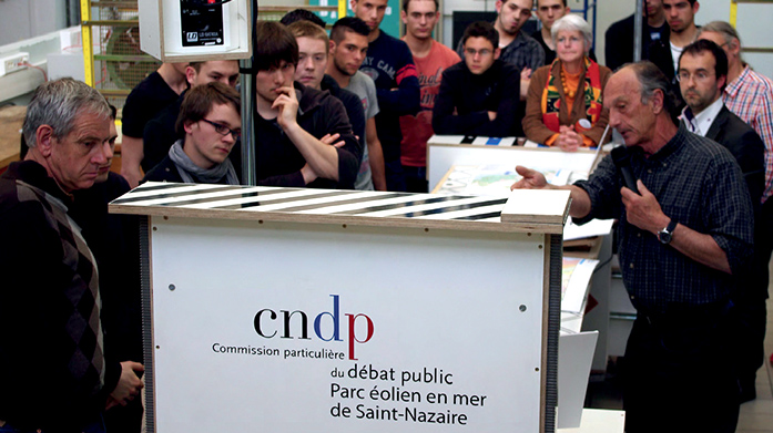 Parc éolien en mer de Saint-Nazaire, un projet de l'Agence What Time Is I.T., Manufacture d'imaginaires