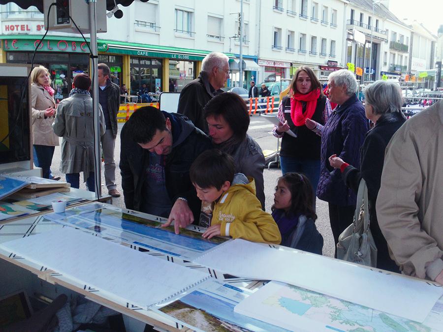 Photo de Parc éolien en mer de Saint-Nazaire, un projet développé par l Agence What Time Is I.T., Manufacture d'imaginaires