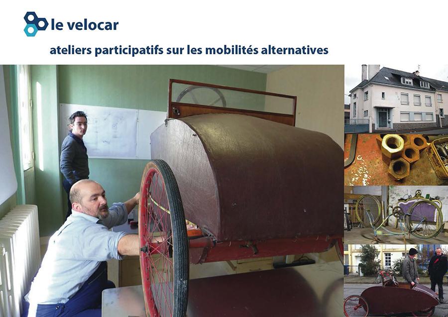 Photo de Vélocar, un outil développé par l Agence What Time Is I.T., Manufacture d'imaginaires