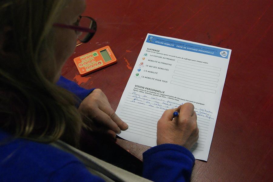 Photo de Vote interactif, un outil développé par l Agence What Time Is I.T., Manufacture d'imaginaires