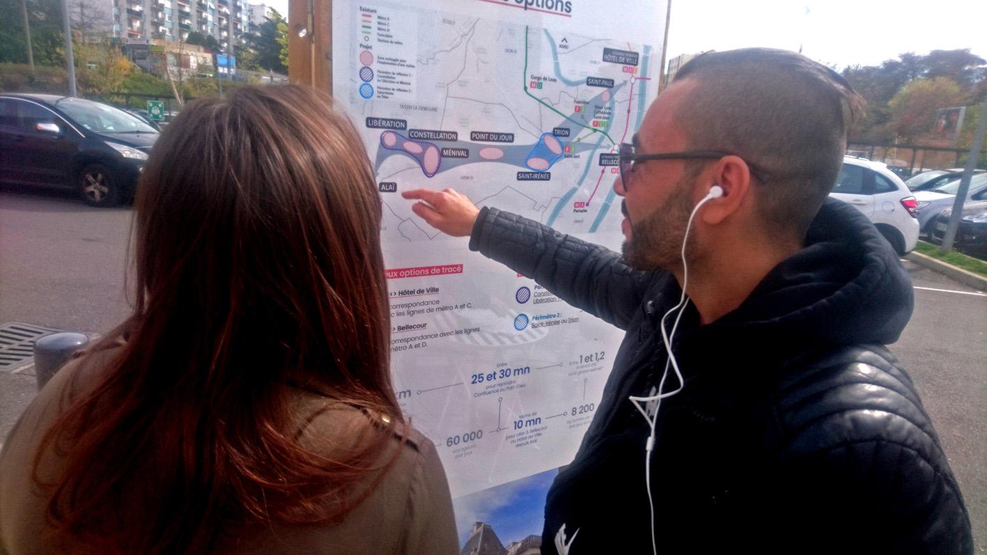 Photo de Metro Ligne E Lyon, un projet développé par l Agence What Time Is I.T., Manufacture d'imaginaires
