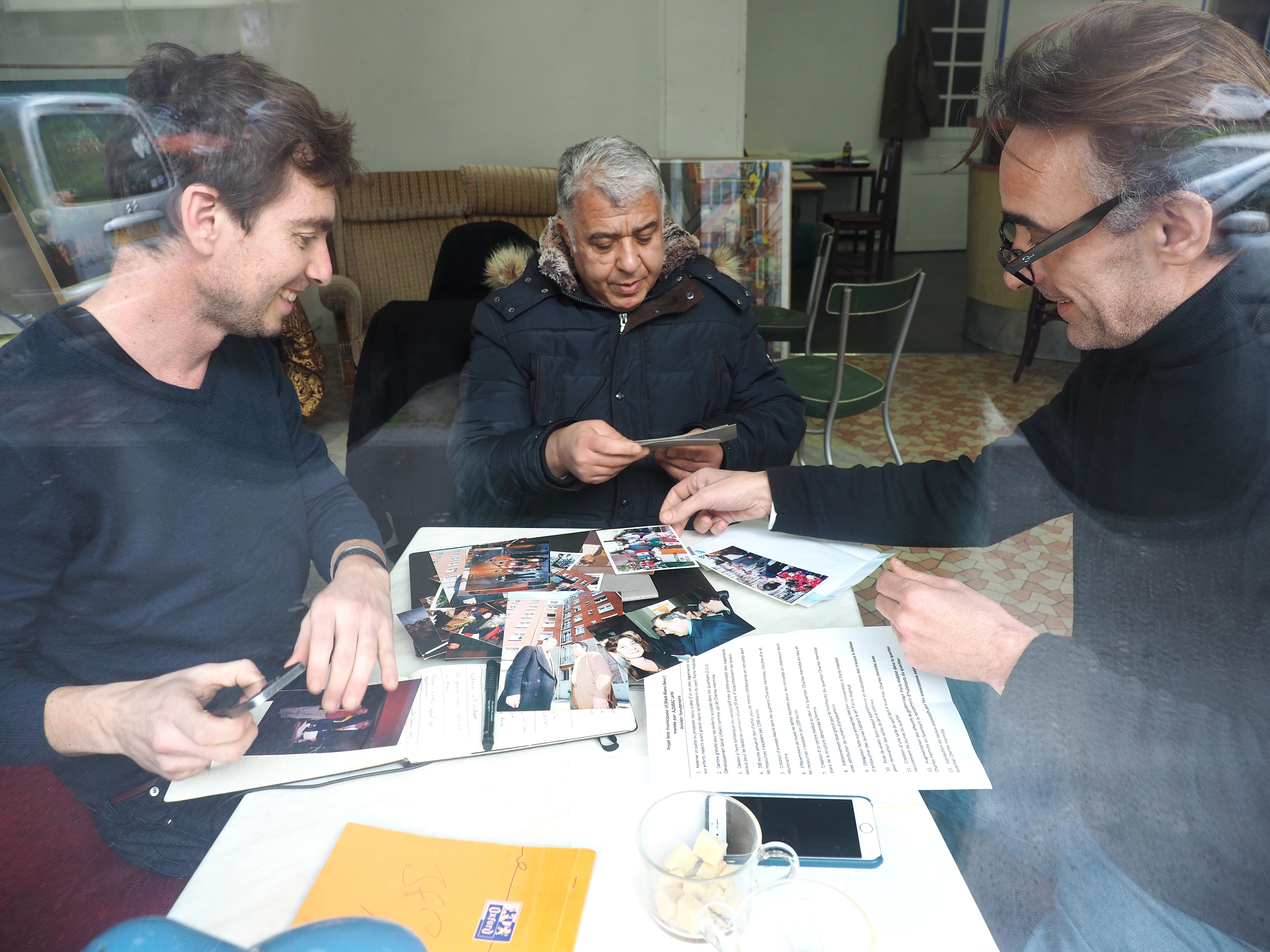 Photo de ZAC GARE DES MINES-FILLETTES - Paris, un projet développé par l Agence What Time Is I.T., Manufacture d'imaginaires